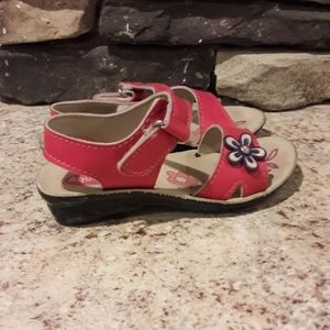 Toddler girl sz 8 Aqualite sandals